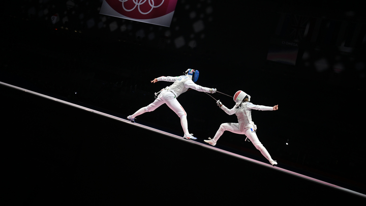 Рапиристки принесли России восьмое золото Олимпиады и тут же стали мемом