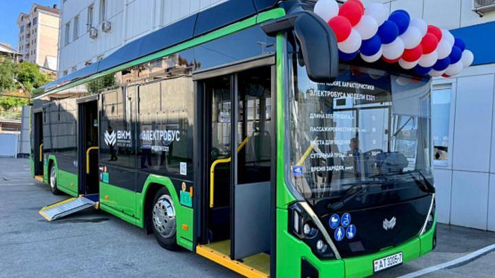 На маршруты Сочи вышел экологичный электробус