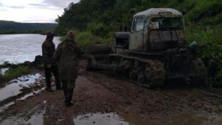 Забайкальцы жалуются, что им не помогают в восстановлении размытых дорог