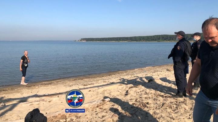 В Новосибирске мужчина грозил покончить с собой на Центральном пляже