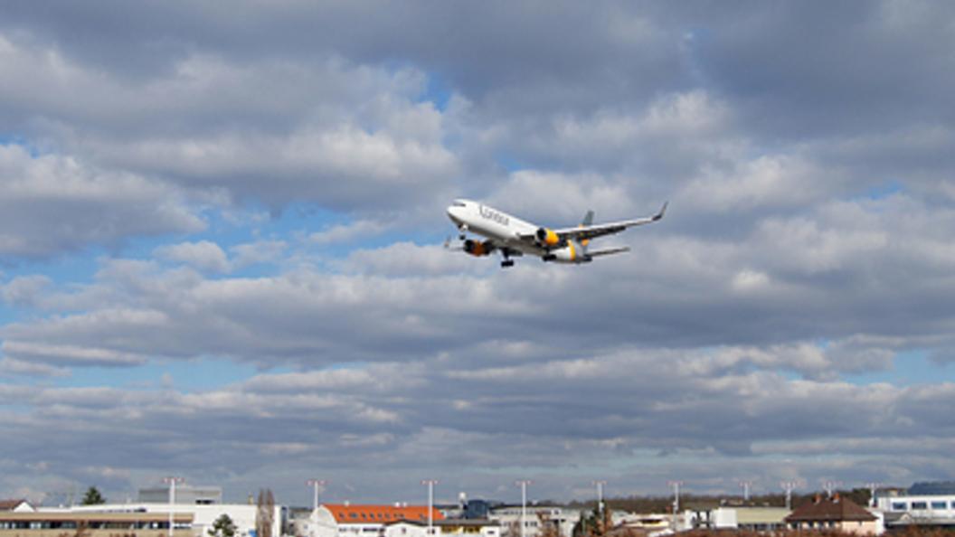 Ваэропорту Токио зажегся пассажирский лайнер