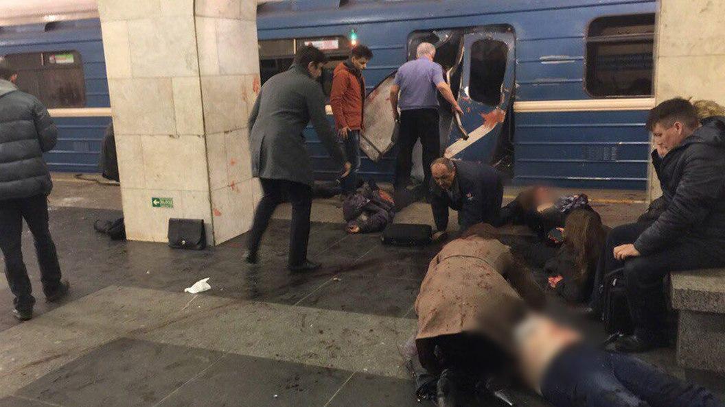 Официально: В результате теракта в Санкт-Петербурге пострадали 50 человек