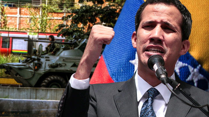 «Тайное» становится явным: Гуайдо уговаривает военных предать Мадуро