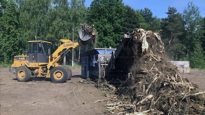 В Кинешме начала работать промышленная дробилка древесных отходов