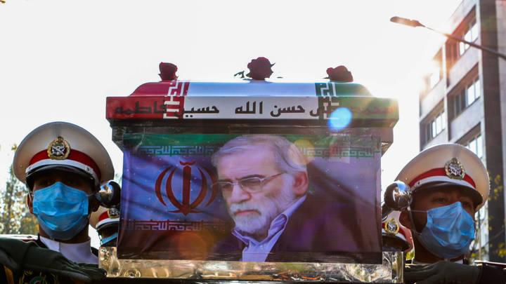 В убийственном сценарии для отца иранской бомбы выжил лишь он: Журналист показал фото