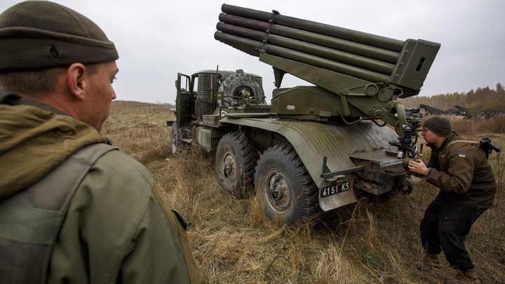 Украинские каратели из Правого сектора готовятся начать геноцид в ДНР