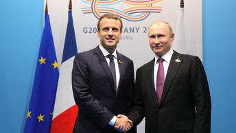 Спецпредставитель Франции раскрыл содержание спецпослания Макрона к Путину
