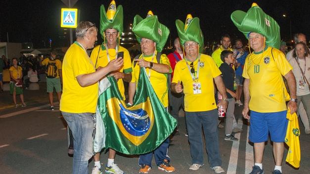 Тысячи бразильских болельщиков приедут на матч в Казани - посольство