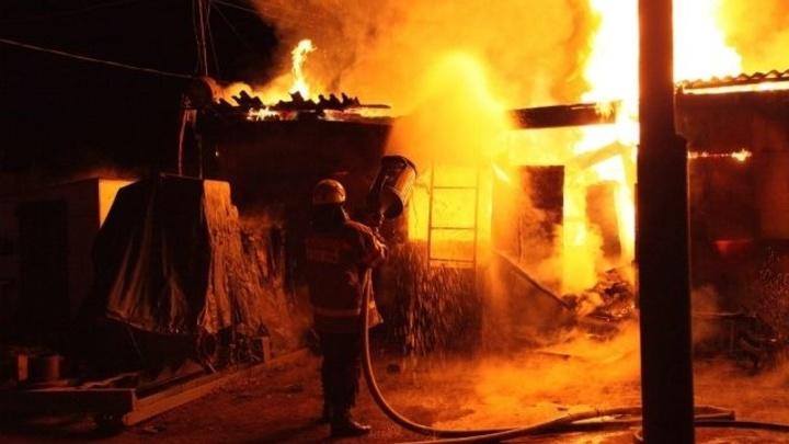 В Ростовской области в пожаре погиб пожилой мужчина