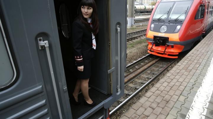 Пробный поезд прошел по железной дороге в объезд Украины