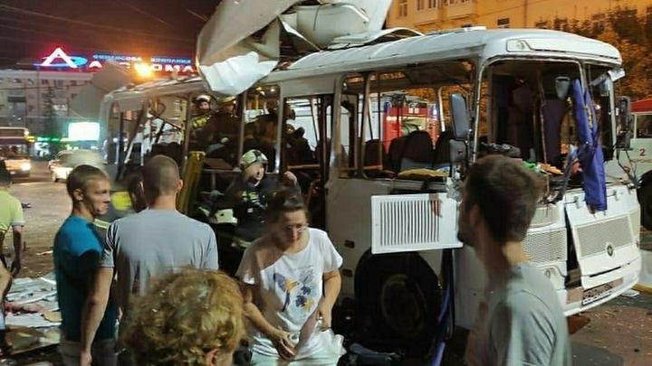Количество пострадавших при взрыве автобуса увеличилось: Один человек до сих в реанимации