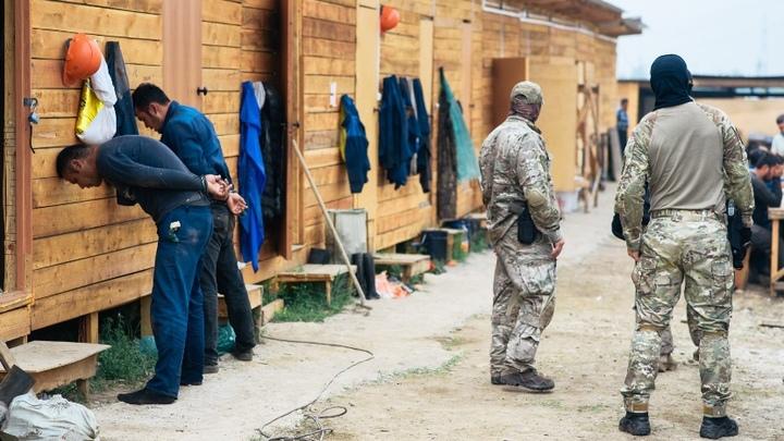 В Чернышевском районе Читы на стройке трудились 33 нелегала