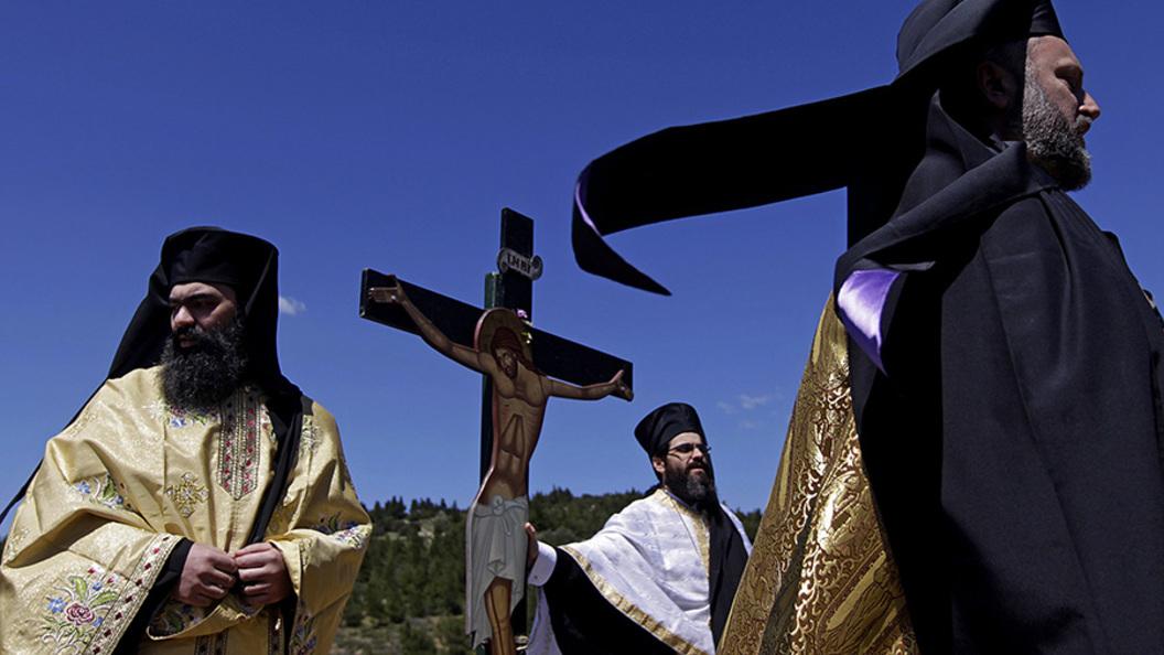 Греки по-прежнему считают православие одной из главных жизненных ценностей