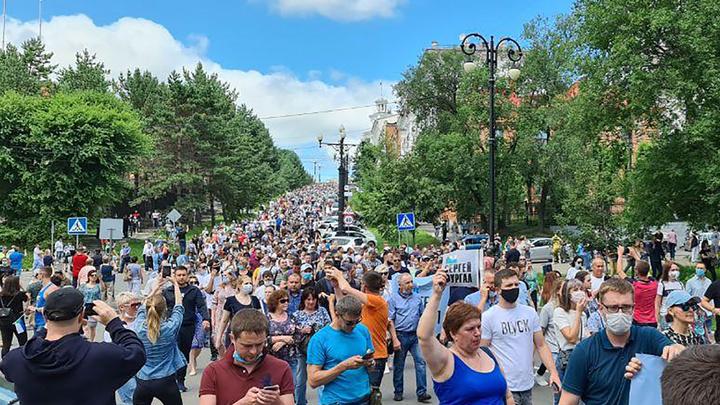 Москва всё проспала: Самодельная революция в Хабаровске