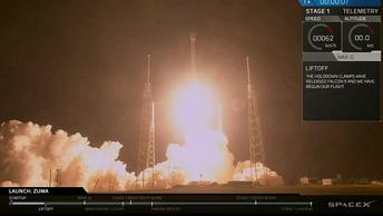 В SpaceX попытались оправдаться за потерю секретного спутника США