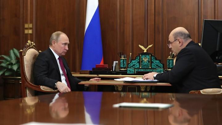 Путин предложил главе ФНС России Мишустину стать премьером: Решение за Госдумой