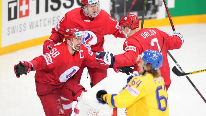 Победу русских хоккеистов над шведами восприняли как услугу Чехии