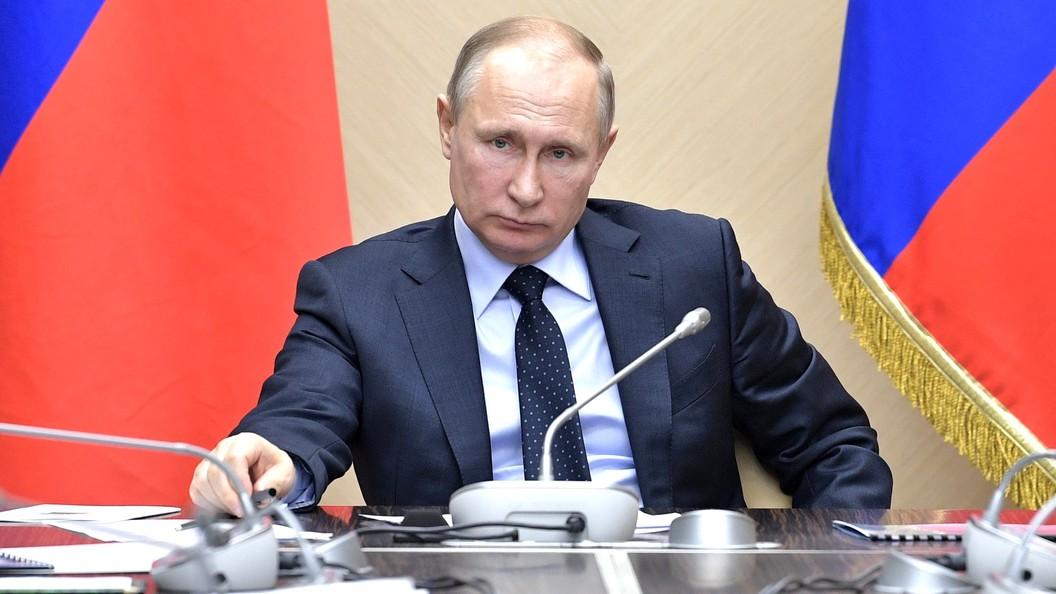 Путин: РФявляется индивидуальным игроком намеждународной арене