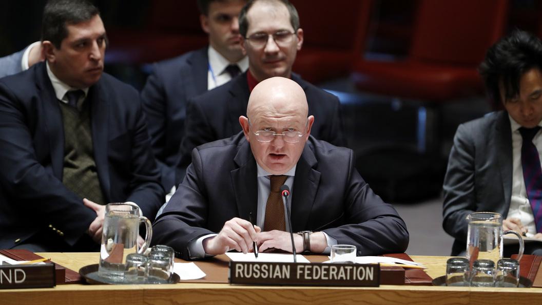 Небензя: Угрозы США ударить поСирии— явное нарушение Устава ООН