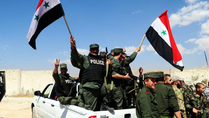 Сирийские ПВО уничтожили все ракеты противника, который пока остается неизвестным