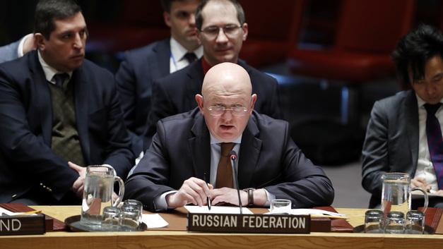 Россия снова села в кресло председателя Совета Безопасности ООН
