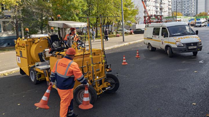 В Челябинске на крупных дорожных развязках северо-запада начался ремонт
