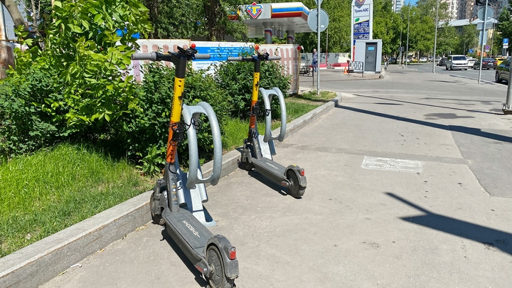 В Самарской области начали штрафовать водителей электросамокатов
