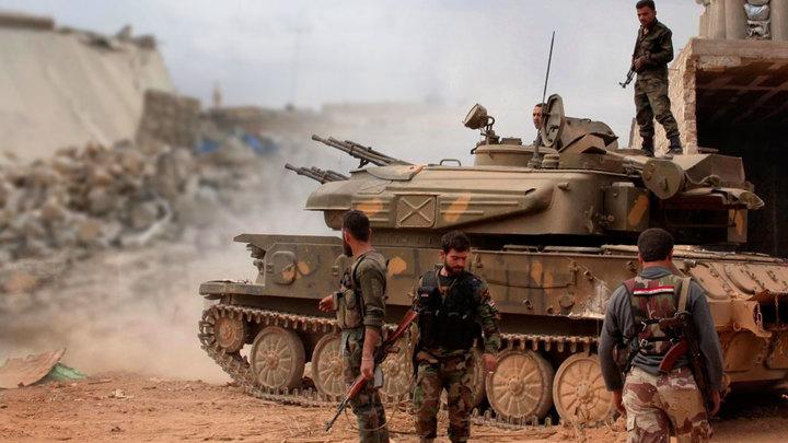 Протурецкие боевики сдают Алеппо
