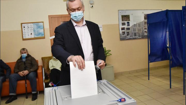 Губернатор Новосибирской области назвал трёхдневные выборы удобным форматом