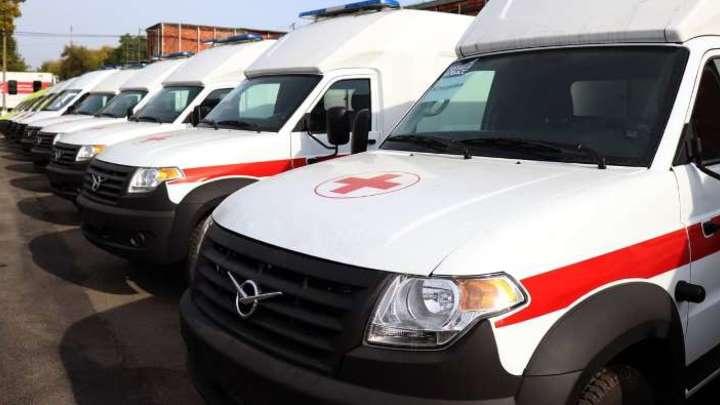 25 новых машин скорой помощи поступило в больницы Кузбасса