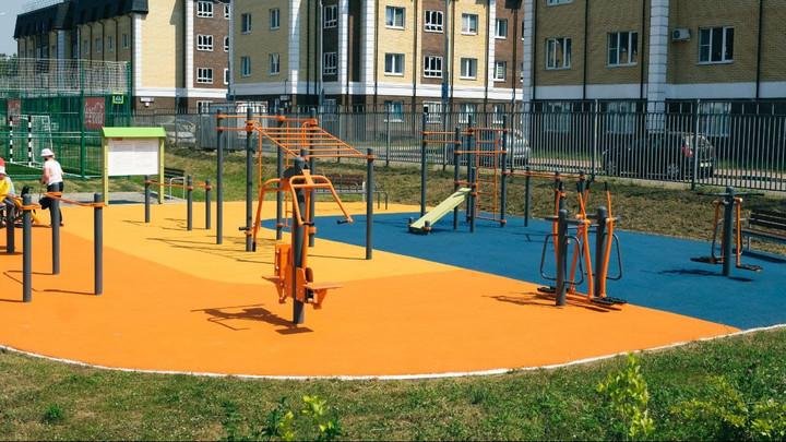 Спортивный инклюзивный парк появился в Королёве