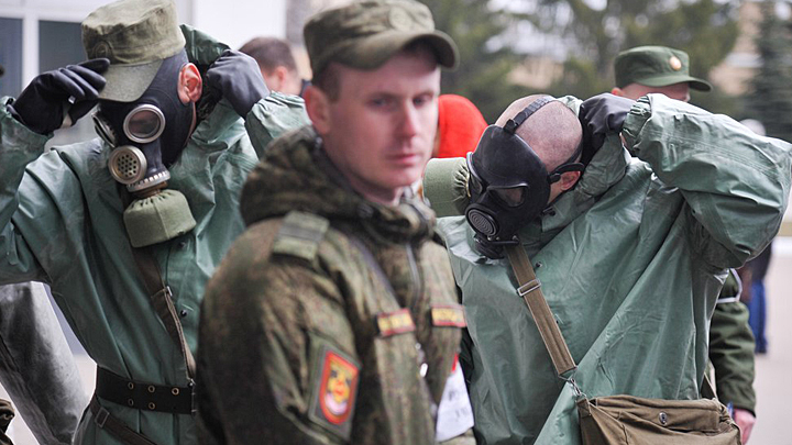 Армия приготовилась к обороне. Против коронавируса