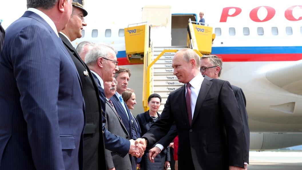 Путин сорвал в Австрии аплодисменты заговорив с бизнесменами по-немецки