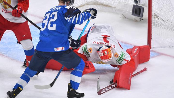 Мальчики, поспокойнее...: Оскорбление русских на матче Россия - Финляндия обидело даже финнов