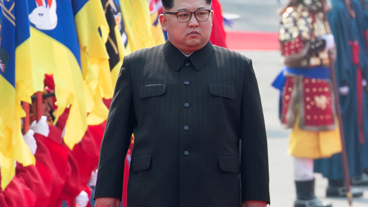 Ким Чен Ын впервый раз непринял Помпео вКНДР