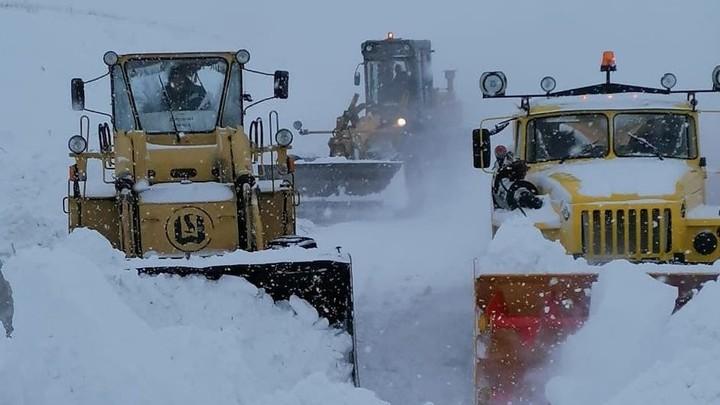 Снегопады и метели обрушились на часть Челябинской области