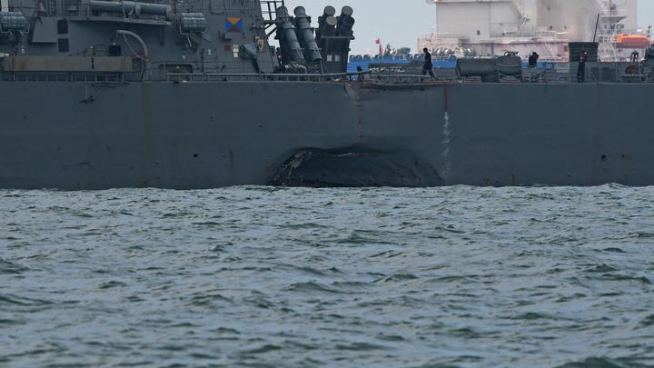 После двух аварий с жертвами командующий седьмым флотом США уходит в отставку
