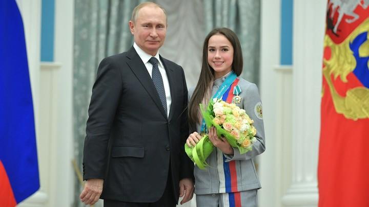 Загитова готова устроить мастер-класс Путину