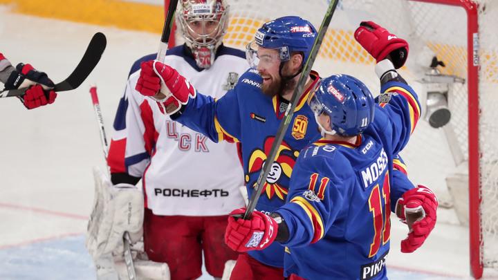 Йокерит докатал ЦСКА до рекорда, СКА вышел в полуфинал Кубка Гагарина