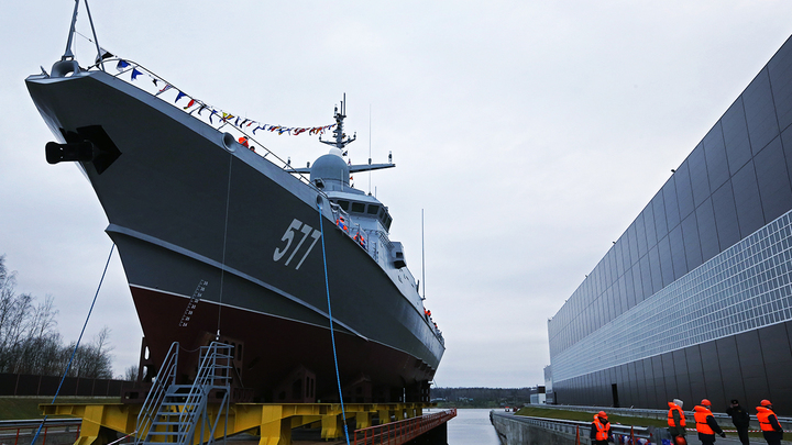 Военные корабли в России штампуют, как на конвейере