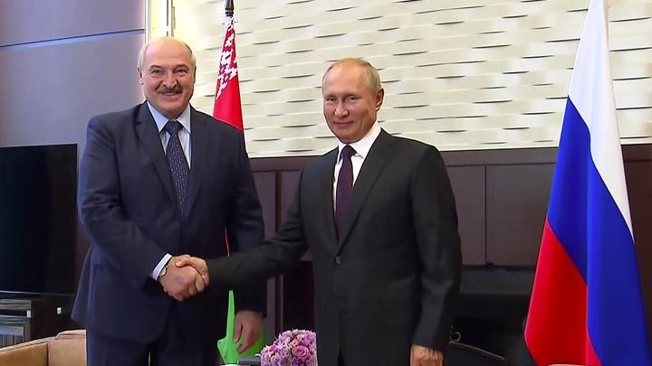 Есть вопросы: Лукашенко начал встречу с Путиным с обороны