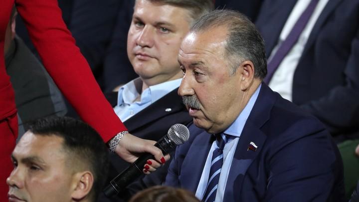 Валерий Газзаев: Оцениваю шансы сборной России против хорватов 60 на 40 в пользу наших