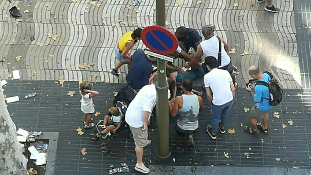 На месте ЧП в Барселоне началась стрельба - СМИ