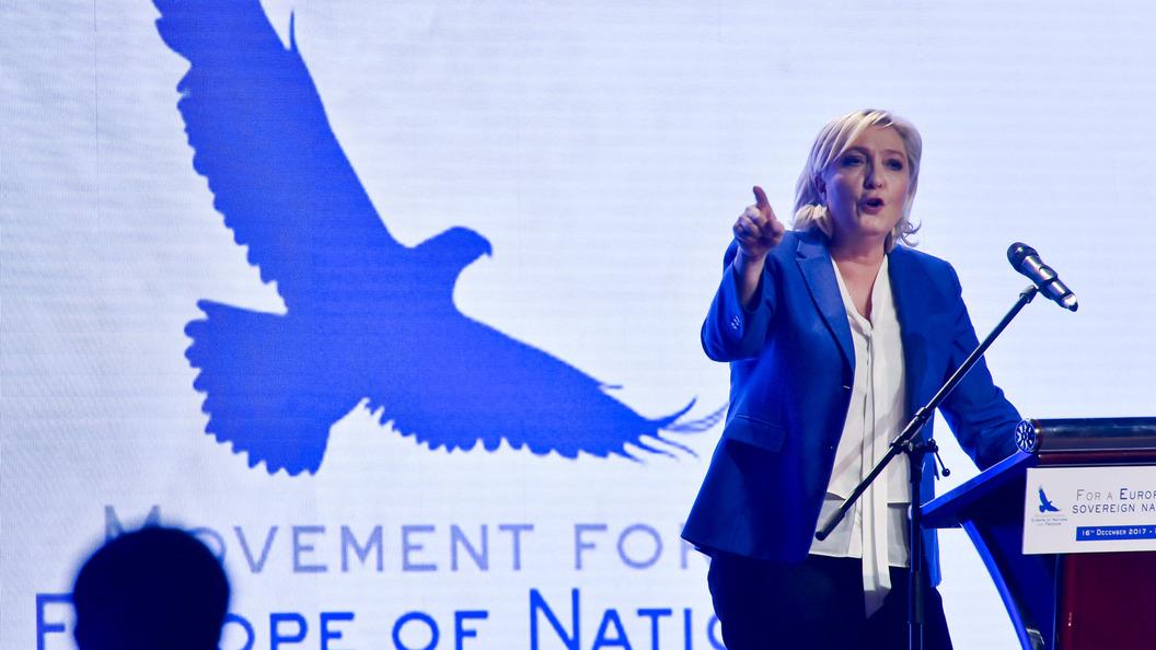 ЛеПен выразила надежду напобеду В. Путина напрезидентских выборах в РФ