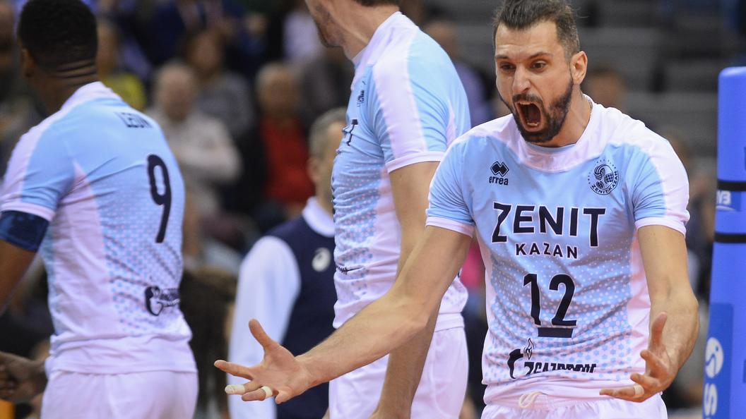 Казань впервый раз примет «Финал четырех» волейбольной Лиги чемпионов