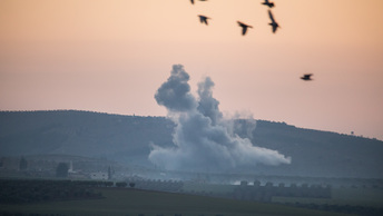 Генштаб: Турция поразила 45 курдских целей в Сирии