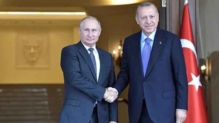 Надежды Эрдогана на встречу с Путиным разбились о планы президента России