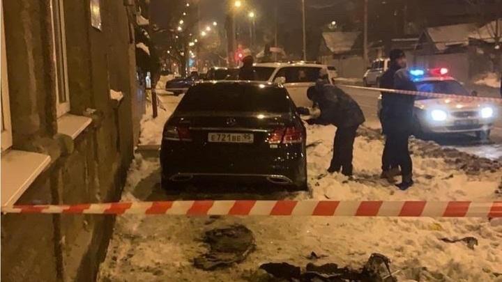 В Краснодаре водитель Mercedes сбил человека и скрылся с места ДТП