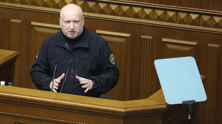 Секретарь СНБО Украины Турчинов оправдался за то, что прятал сына от войны в Донбассе