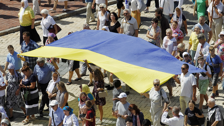 Специально для вас, Владимир Рудольфович: Украинка попыталась устроить ликбез Соловьеву, но ее подняли на смех
